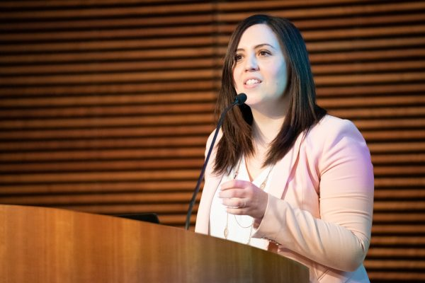 Dr Pulia speaks at Research Day 2020